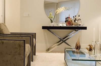 #400264 Construindo Minha Casa Clean Aparadores Modernos e Vintage Inspirações para encher os olhos 400x264 píxeis em Aparador Moderno Para Sala De Estar