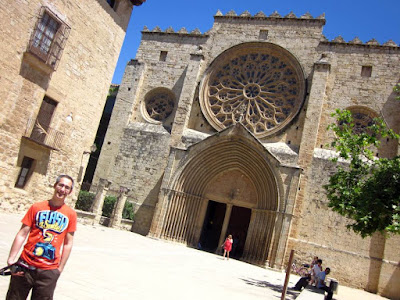 Monasterio de Sant Cugat cerca de Barcelona