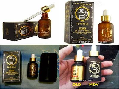 perbedaan serum black magic korea asli dan palsu