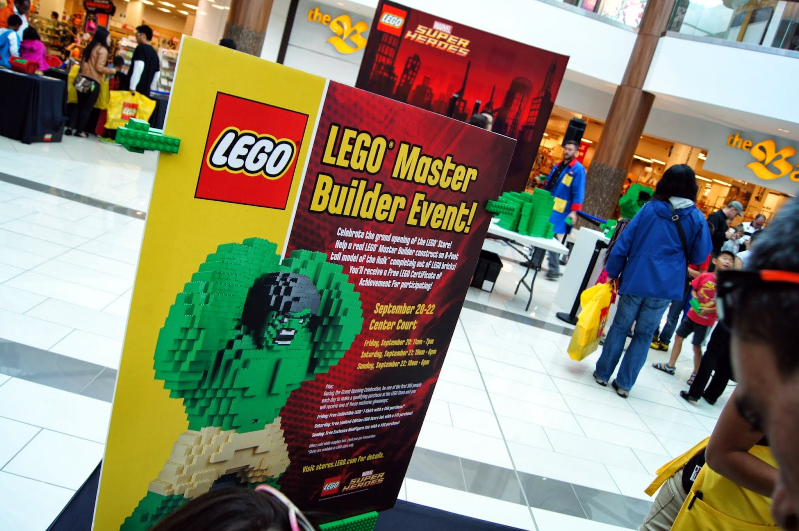 Mashed Thoughts Guildford Town Centre Lego Store Grand Opening With