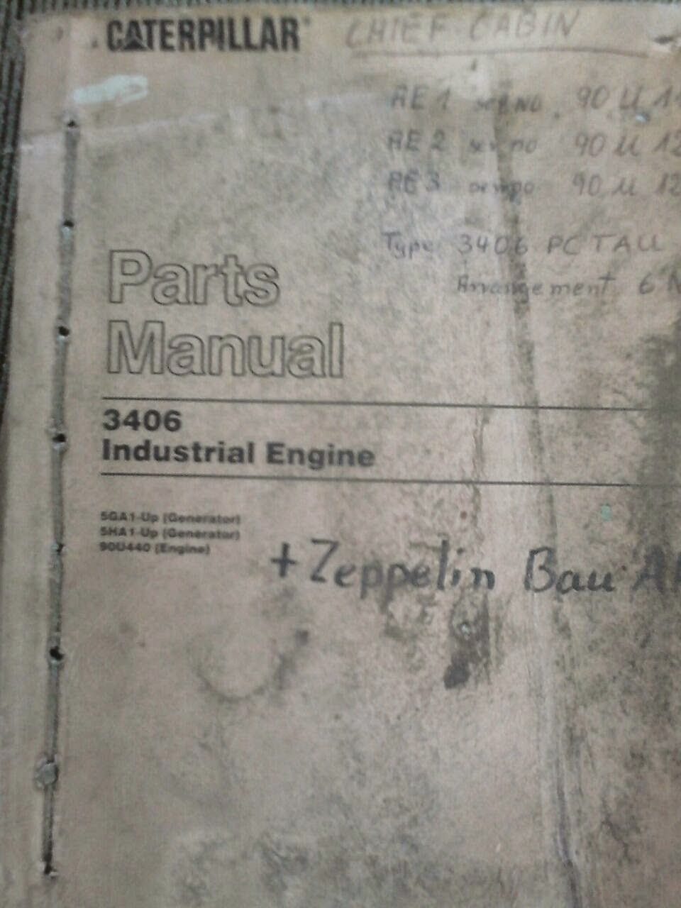 CAT 3406 manual book, service manual book for caterpillar engine