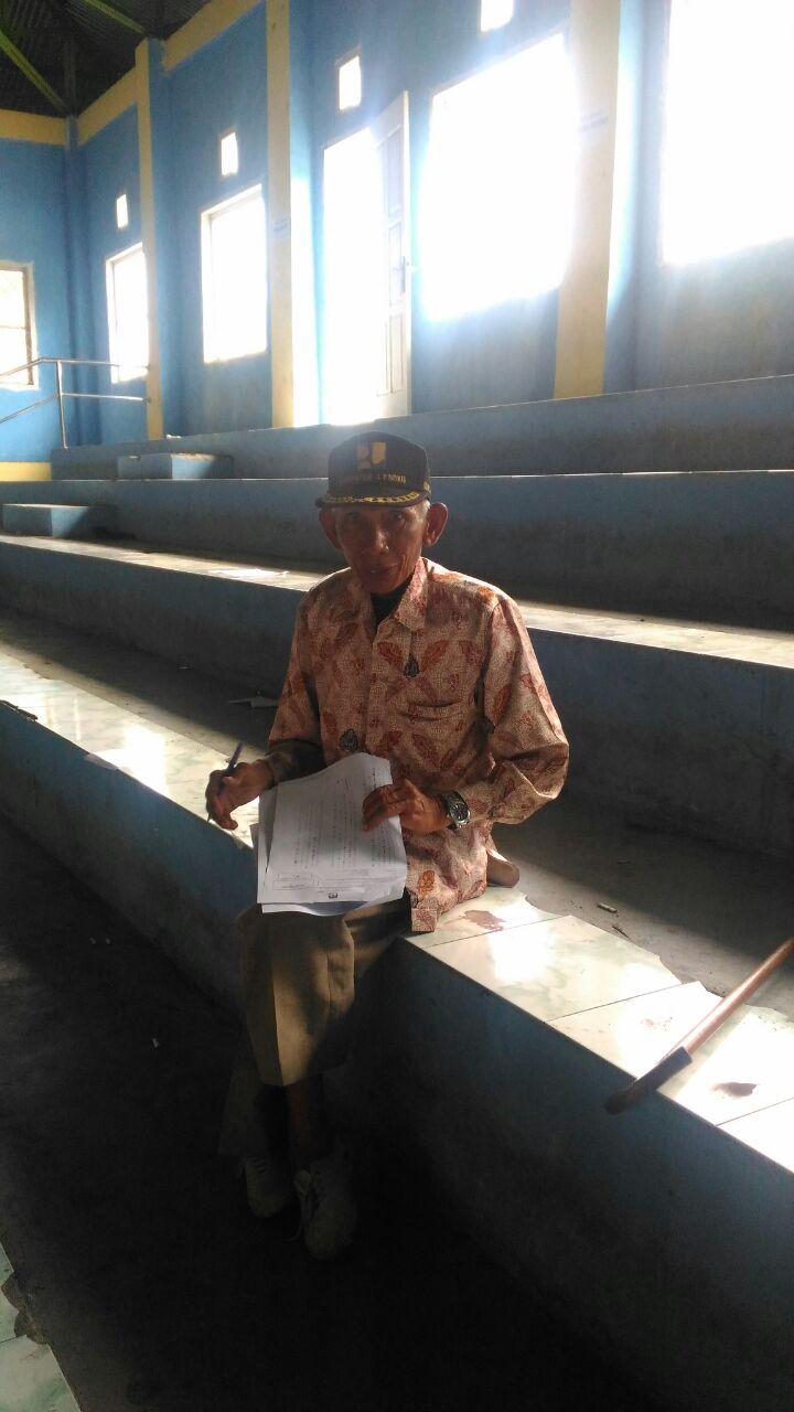 Salut !!! Kakek ini Tetap Semangat Ikuti Tes PPK Meski Keterbatasan Fisik