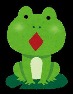 カエルの合唱のイラスト4