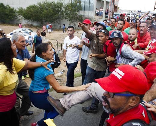 Protesta de la MUD en Villa Rosa dejó cinco heridos