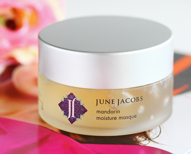 June Jacobs Mandarin Moisture Masque Review, June Jacobs Review, June Jacobs Giveaway