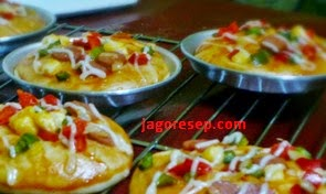 Resep Pizza Mini Sederhana