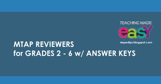 mtap reviewer grade 2