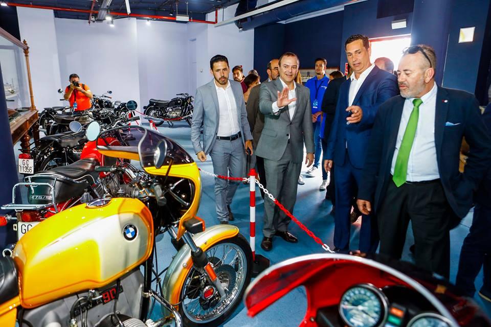 Comenz la iii feria de la moto y de la movilidad urbana for Cocina urbana canaria