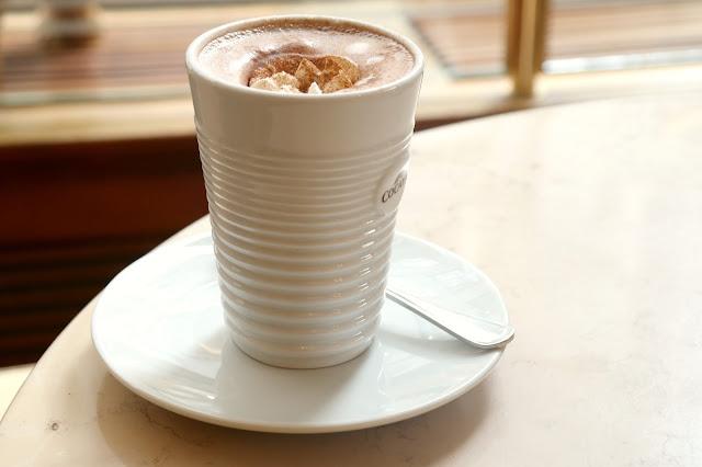 heiße Schokolade Kaffeehaus Riquet