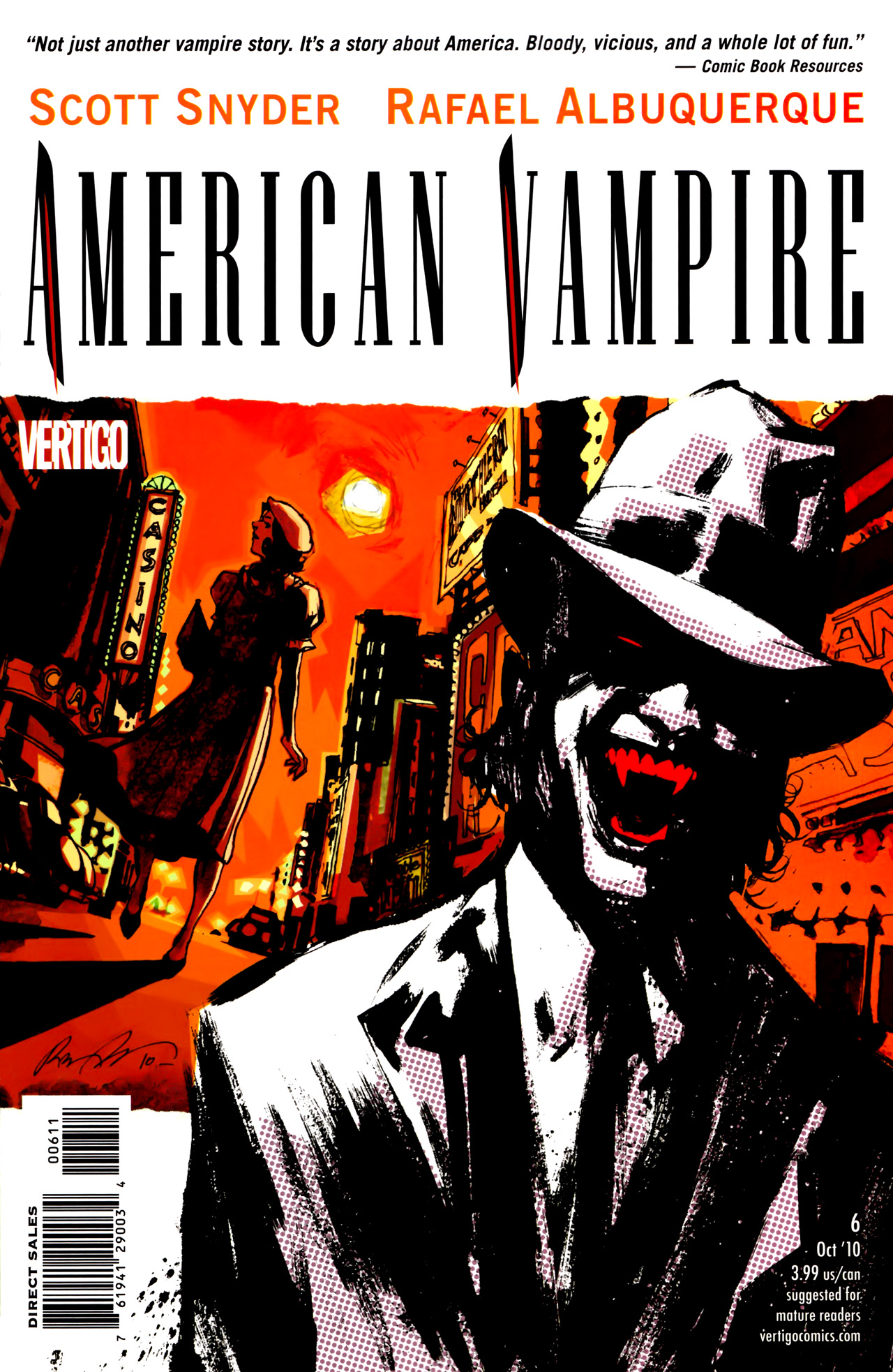 Read online American Vampire comic -  Issue #6 - 1