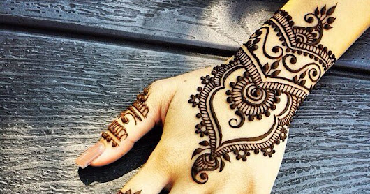{{ Latest 2018 }} 30+ Simple Mehndi Designs for Hands
