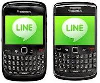 تحميل برنامج لاين للبلأك بيري برابط مباشر . download LINE messenger for blackberry free