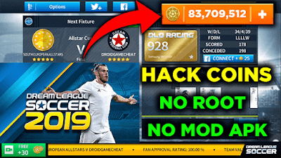 How to hack dream league soccer 2019