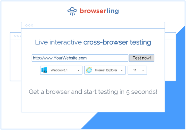 Browserling Live interactive cross