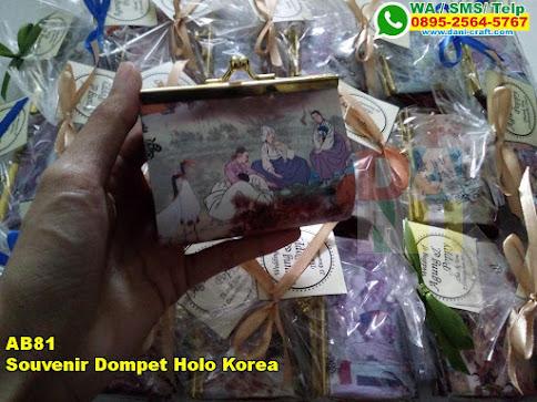 Jual Souvenir Dompet Holo Korea