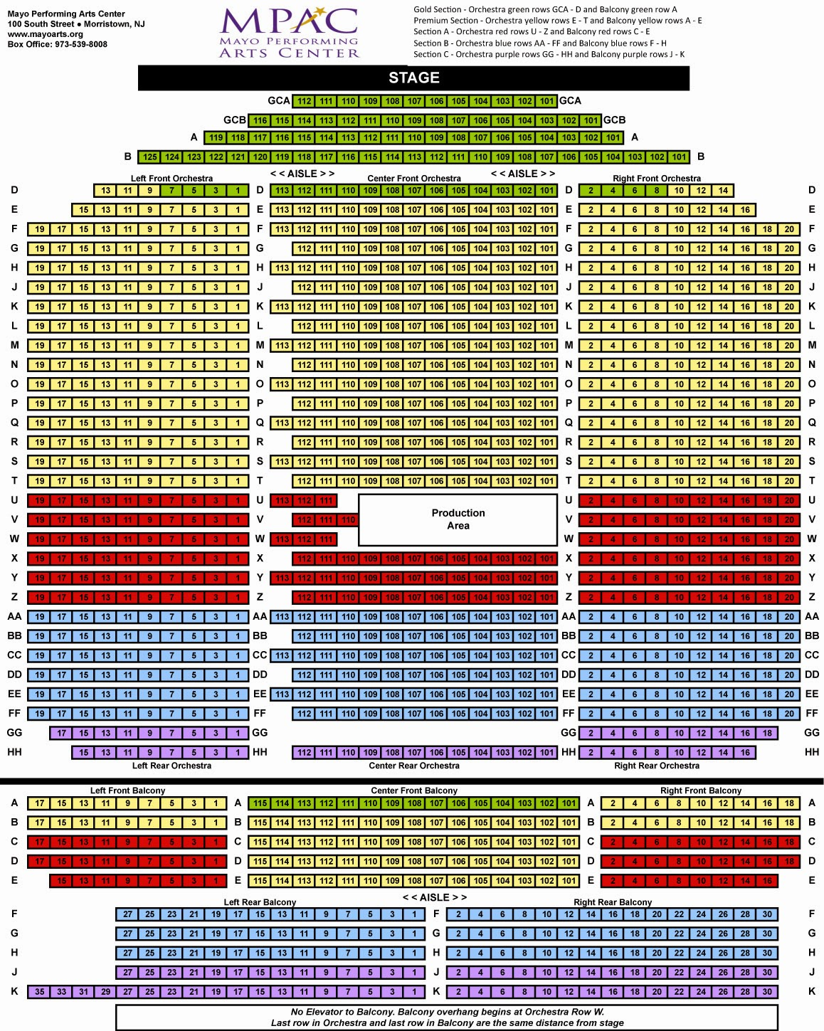 new jersey performing arts center check availability