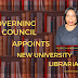 UNILAG Governing Council Appoints New University Librarian