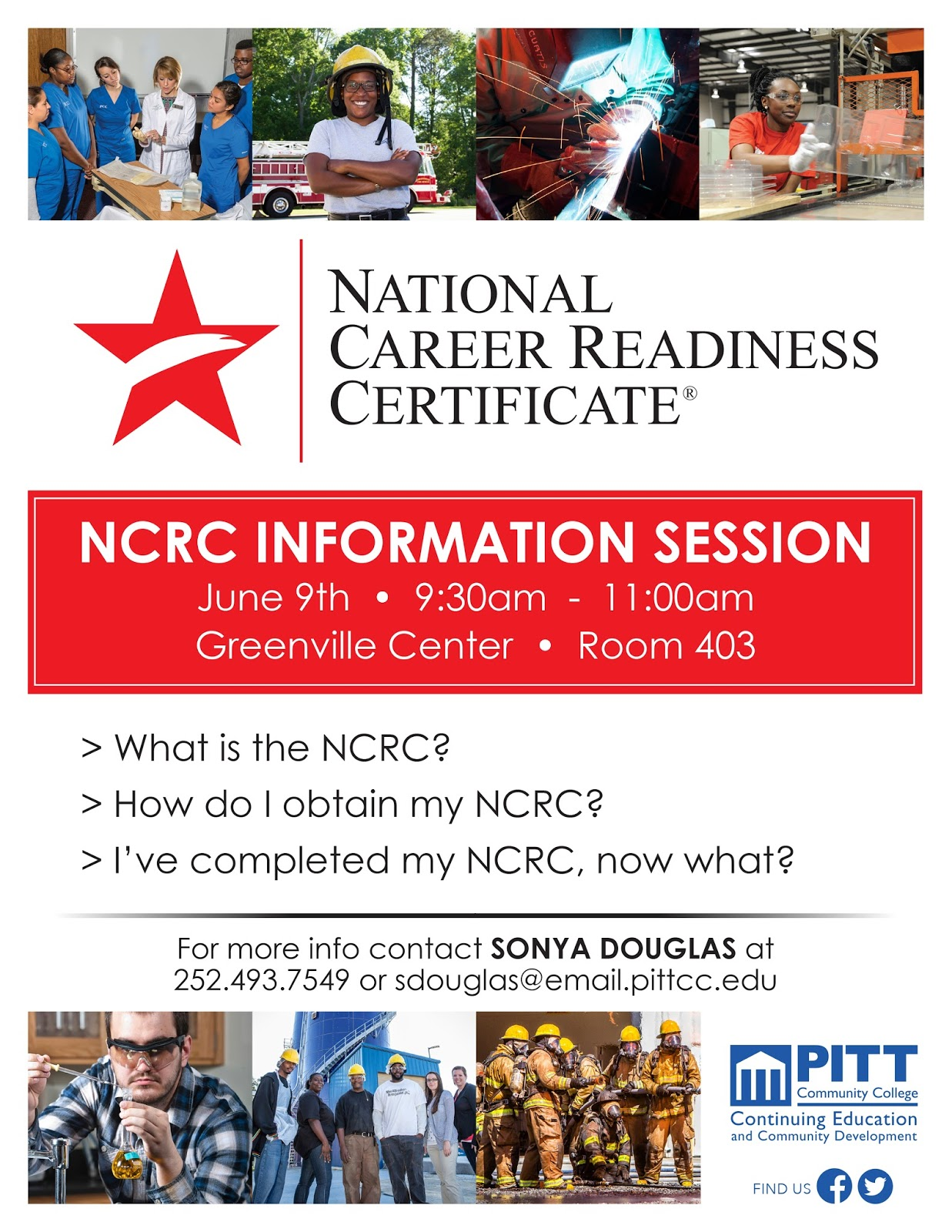 Pcc career readiness certificate national career readiness national career readiness certificate ncrc information session xflitez Image collections