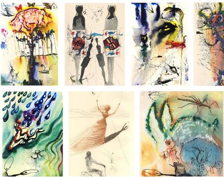Alicia en el país de las maravillas / Ilustrada por Salvador Dalí