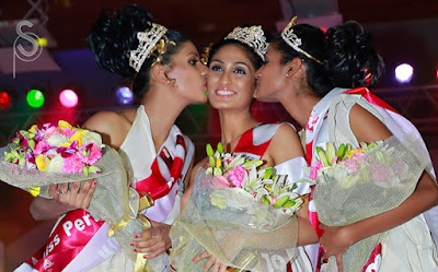 Deepti won the Miss Kerala 2012