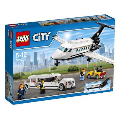 TOYS : JUGUETES - LEGO City 60102 Aeropuerto : Servicio VIP | 2016 Piezas: 364 | Edad: 5-12 años Comprar en Amazon España