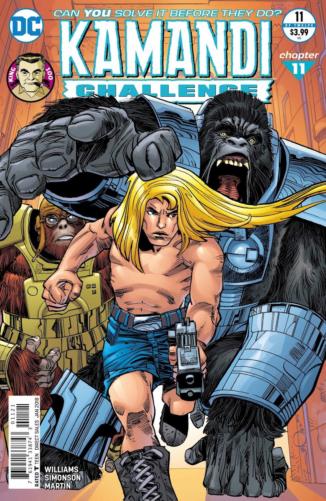 Year Zero Kamandi And The Mutants