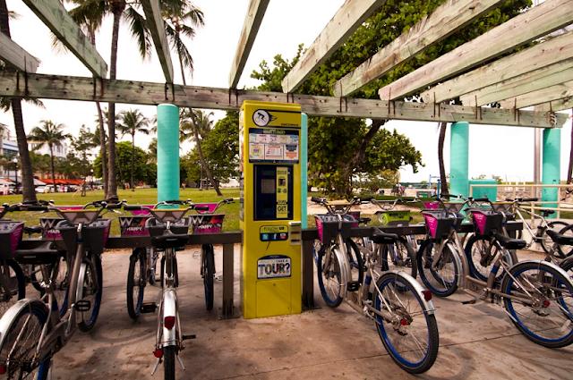 Informações para alugar bicicletas em Miami