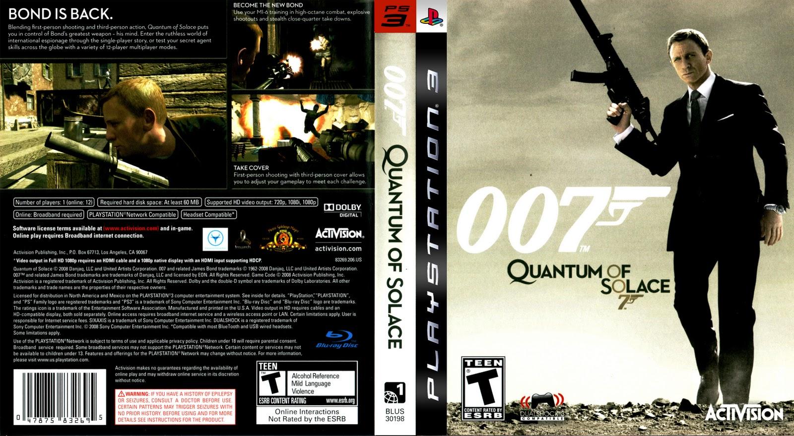 James Bond 007 Quantum of Solace PC Free Download