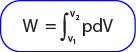 Rumus besarnya usaha pada proses isotermal