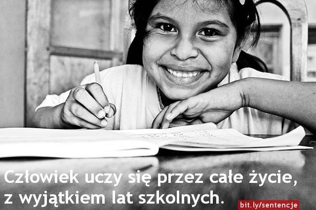 Motywacja do nauki - cytaty - uśmiech