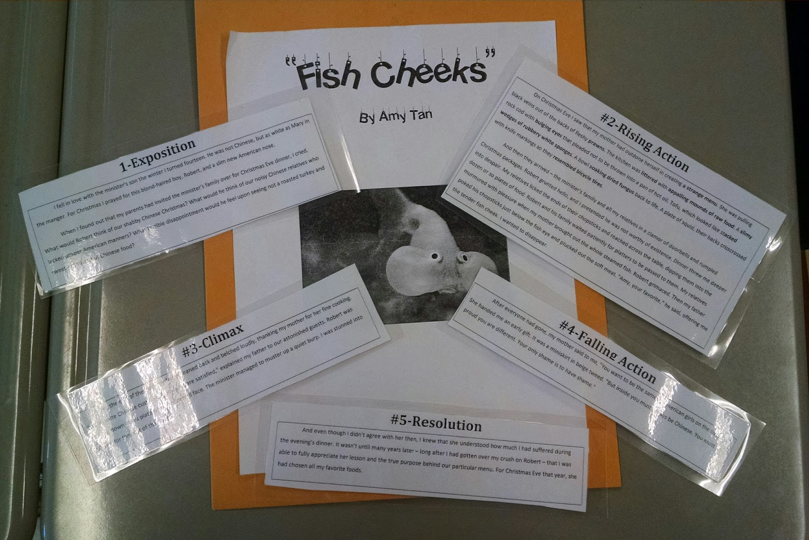 Mr Adelman S 7th Grade Ela Class Fish Cheeks And Other