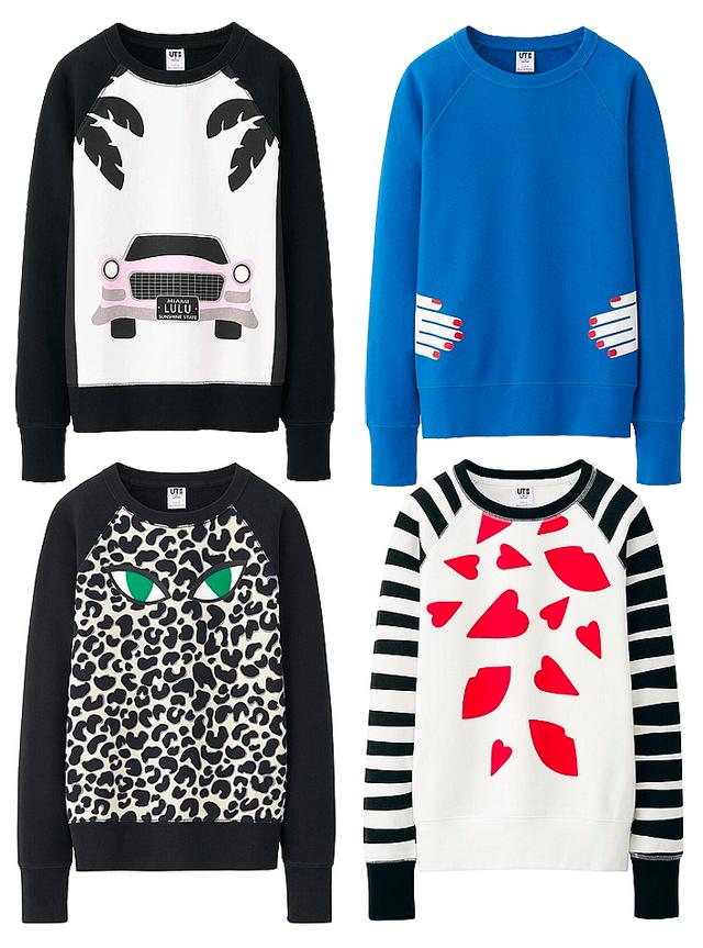 Lulu guinness sweatshirts
