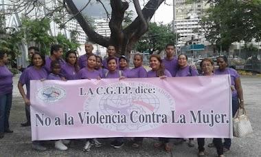 LA CGTP se manifiesta este 25 de Noviembre en contra de la violencia hacia la Mujer.