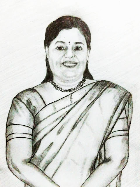 PENCIL DRAWING  - Viji R Krishnan