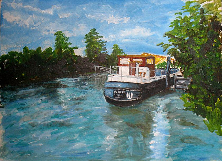 Art de vivre la peinture de peintrefiguratif peinture - Salon du dessin et de la peinture a l eau ...