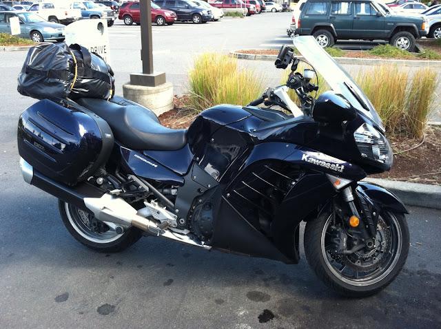 Our 2010 Kawasaki Concours 14 rental bike