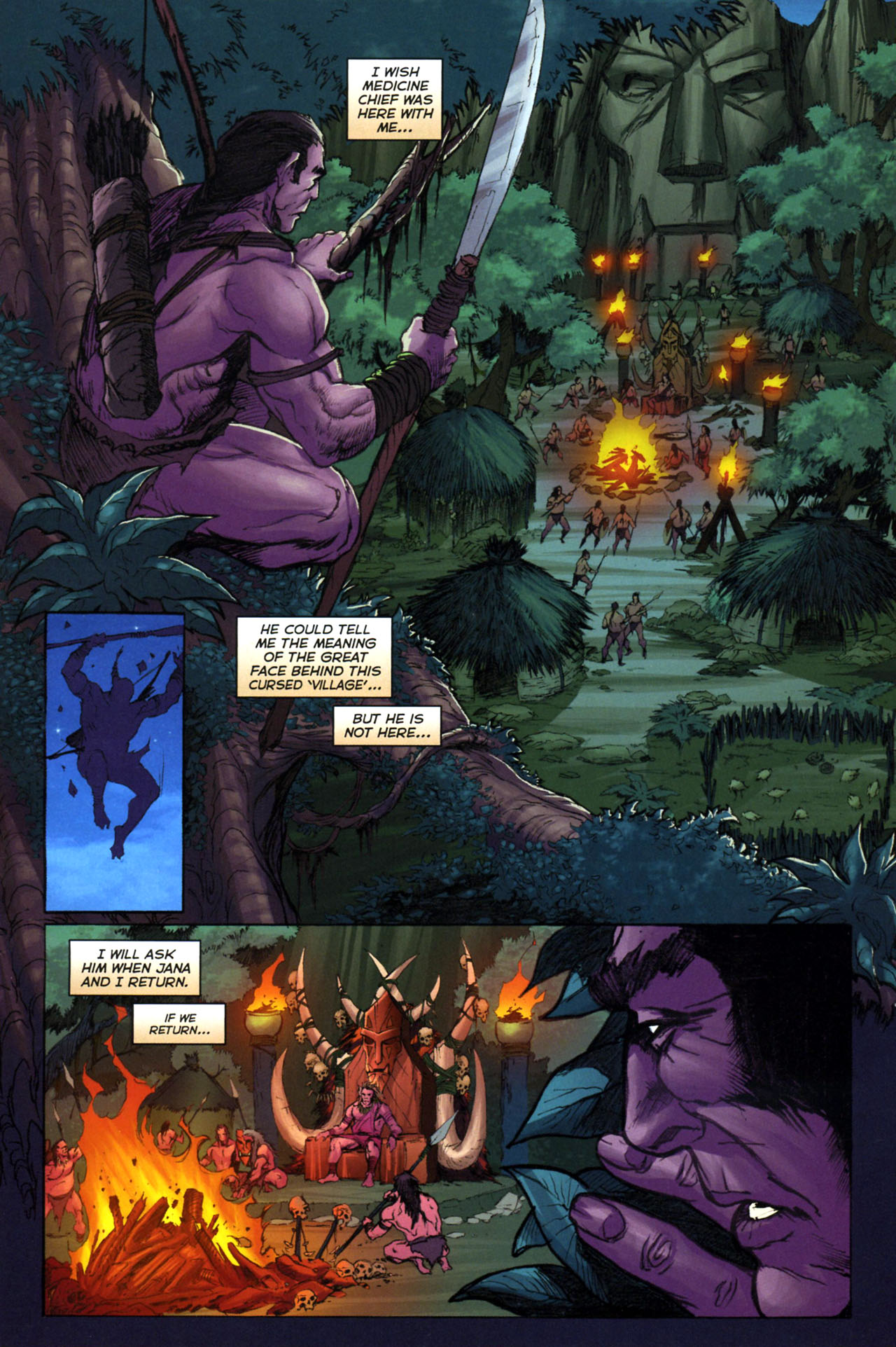 Read online Jungle Girl comic -  Issue #3 - 13