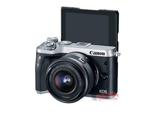 Canon EOS M6, поворотный экран