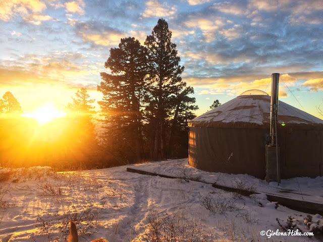 Limber Flag Yurt, Utah, Yurts of Utah