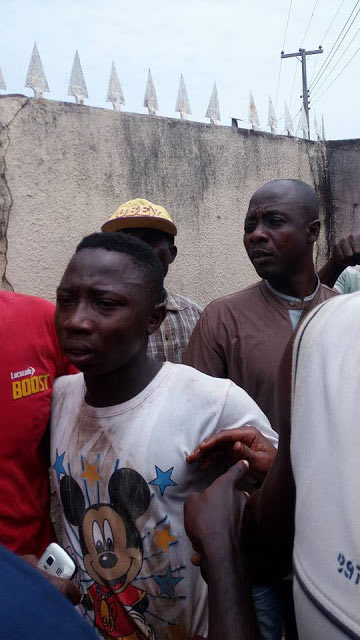 Photos: Mob batters kidnapper who was nabbed during the act in Benue