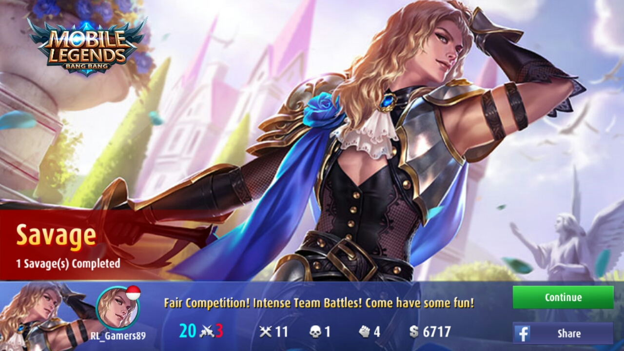 Lancelot Ksatria Dari Light Of Dawn Mobile Legends