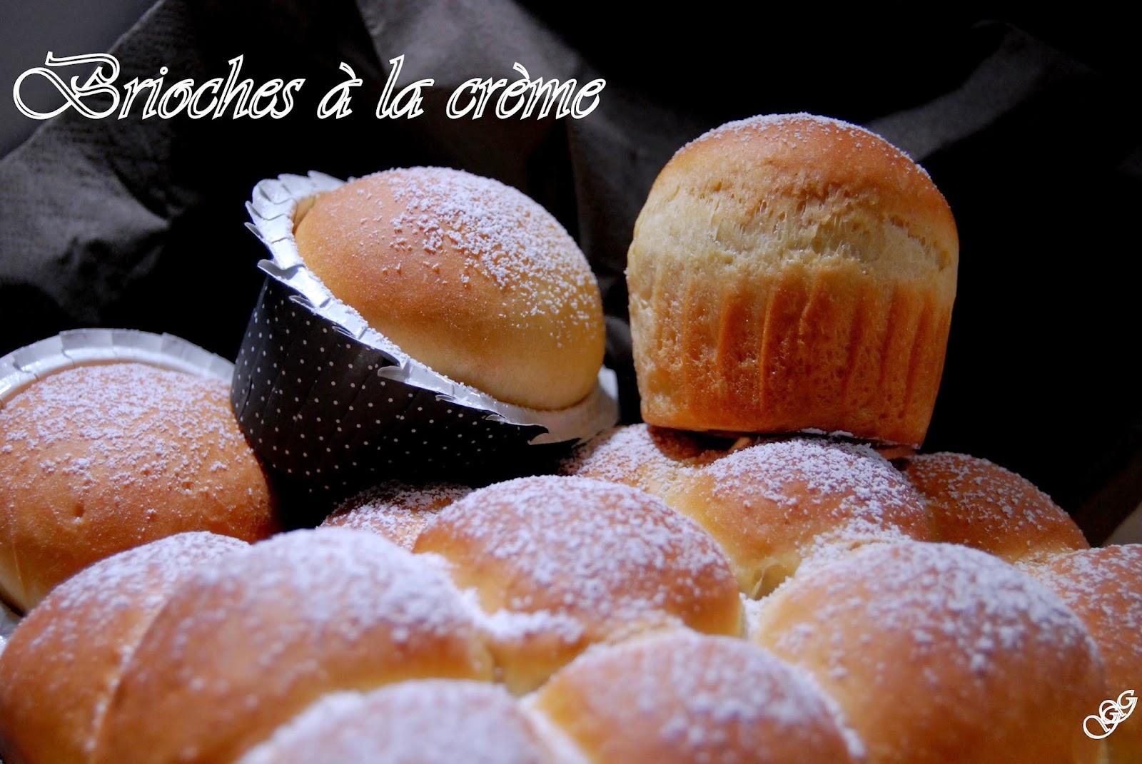 Brioches à la crème