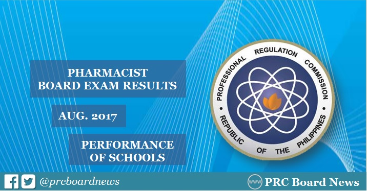 pharmacist board exam results top schools