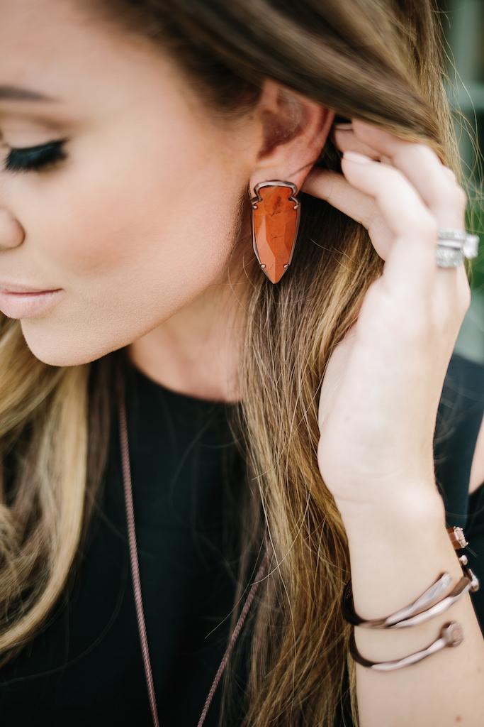 KBStyled: statement earrings kendra scott earrings