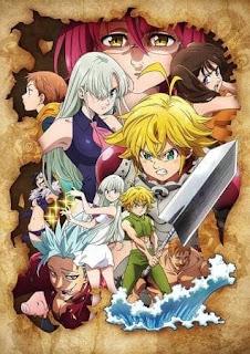 تقرير أنمي الخطايا السبع المميتة: غضب الألهة Nanatsu no Taizai: Kamigami no Gekirin الموسم الثالث