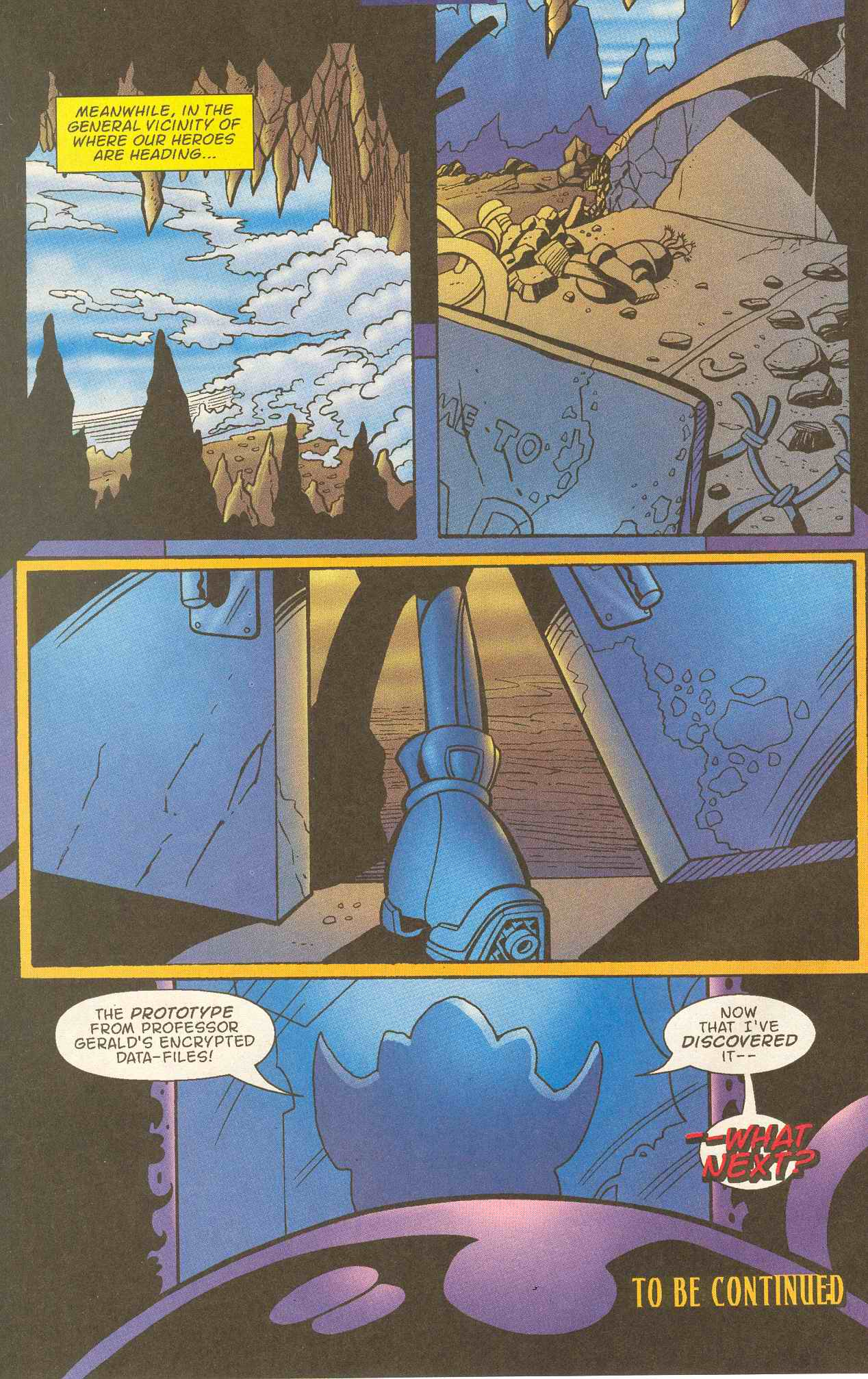 Read online Sonic The Hedgehog comic -  Issue #145 - 25