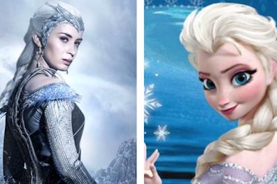 Emily Blunt, dari Black Widow hingga Elsa Frozen