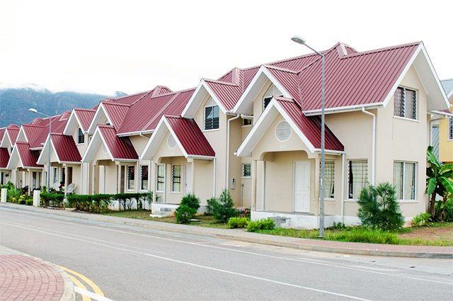 Sozialer Wohnungsbau auf den Seychellen (C) The National