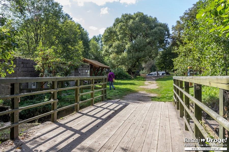Okolice siedziby Suwalskiego Parku Krajobrazowego w Turtulu