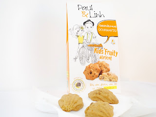 Paul & Linh - Kids Fruity abricot ( Biscuiterie de Provence)